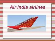 Explore Air india Airlines low fare flights