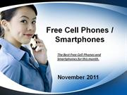 Free Cell Phones and Smartphones November 2011
