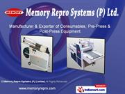 Memory Repro Systems (P) Limited New Delhi India