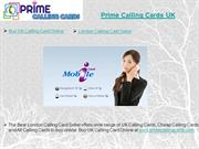 Prime Calling Cards UK