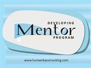 Developing Mentoring Program