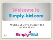 Simply-bid.com A new 'Lowest Unique Bid' website