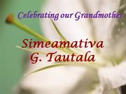 Celebrating our Grandmother