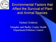 6-16-03 Environmental Factors that Affec