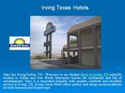 Irving Texas Hotels