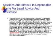 Dependable Name For Legal Advice And Assistance