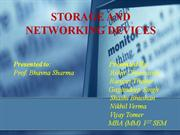 FINAL Storage n networking devices