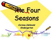 four seasons presentation
