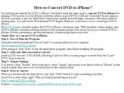How to Convert DVD to iPhone