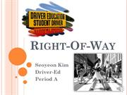 111114 Driver-Ed Project Right-of-Way