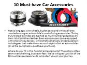 Top 10 Must Have Auto Accessories