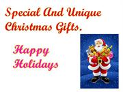 Special Christmas Gifts