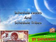 schedule caste by shivansh