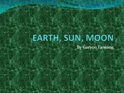garyon EARTH SUN MOON