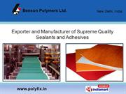 Benson Polymers Limited New Delhi India