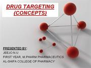 DRUG TARGETING PPT - Copy