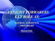 PRESENTATION --- logistics Providers