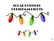 Frequent Questions About Solar Powered Christmas Lights