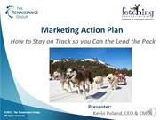Marketing Action Plan Webcast