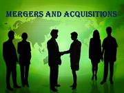 Mergers & Acqisitions