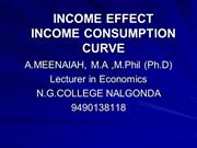INCOME EFFECT PPT