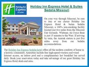 Holiday Inn Express Truman lake MO Hotel