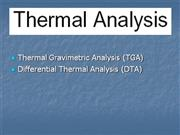 A guide to thermal analysis methods