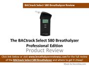 BACtrack Select S80 Breathalyzer Review