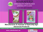 Mahafeed Speciality Fertilizers (India) Pvt. Ltd. Pune India