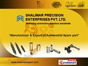 Shalimar Precision Enterprises Pvt. Ltd. New Delhi INDIA