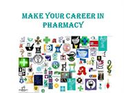 Make your career in Pharmacy