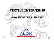 -Alok-Industries-Internship-Ppt