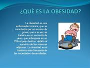 QUÈ ES LA OBESIDAD PRESS POWER POINT 7