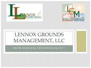 Lennox Grounds Management, LLC