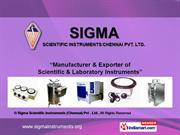 Sigma Scientific Instruments Chennai Pvt Ltd. Tamil Nadu India