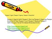 Passport Agent, Passport Agency, Passport Consultant