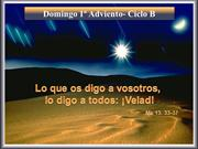 1er Domingo Adviento-CicloB