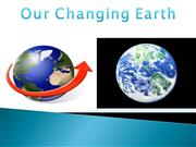 our changing earth 2003