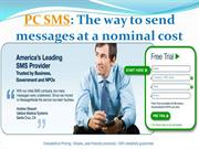 PC SMS The way to send messages at a nominal cost- message-media.com