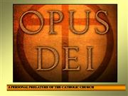 On the Prelature of Opus Dei. History