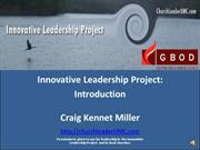 Innovative Leadership Project Introduction