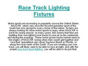 Race Track Lighting Fixtures