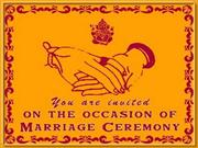 Marriage Invitation From Rajesh
