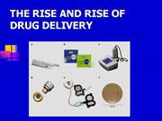 DRUG DELIVERY