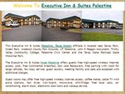 Executive Inn & Suites Palestine Texas Motel