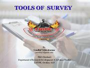 Tools of survey