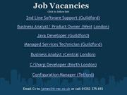 Job Vacancies 24/11/11