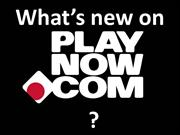 What's new on PlayNow_November2011