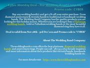 Cyber Monday Deal - The Wedding Band Company - Promo code