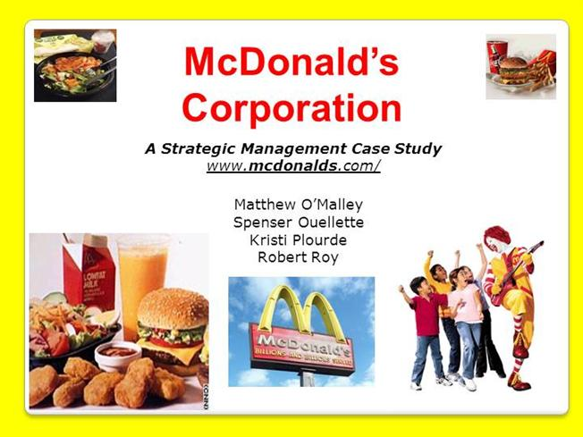 mcdonalds case study philippines The catalyst is the most innovative hvac advance rooftop-unit control (arc) technology on the market.